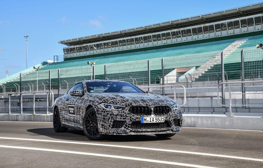 Primele imagini cu viitorul BMW M8 Coupe: motor V8 cu peste 600 CP și tracțiune integrală M xDrive - Poza 5