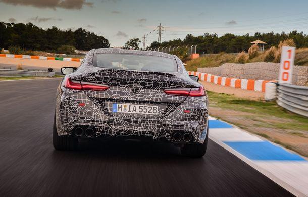 Primele imagini cu viitorul BMW M8 Coupe: motor V8 cu peste 600 CP și tracțiune integrală M xDrive - Poza 33