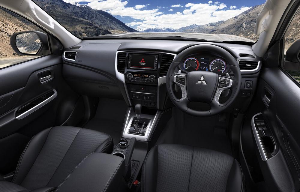 Mitsubishi L200 facelift: pick-up-ul primește noutăți de design, îmbunătățiri la tracțiunea integrală și noi sisteme de siguranță - Poza 4