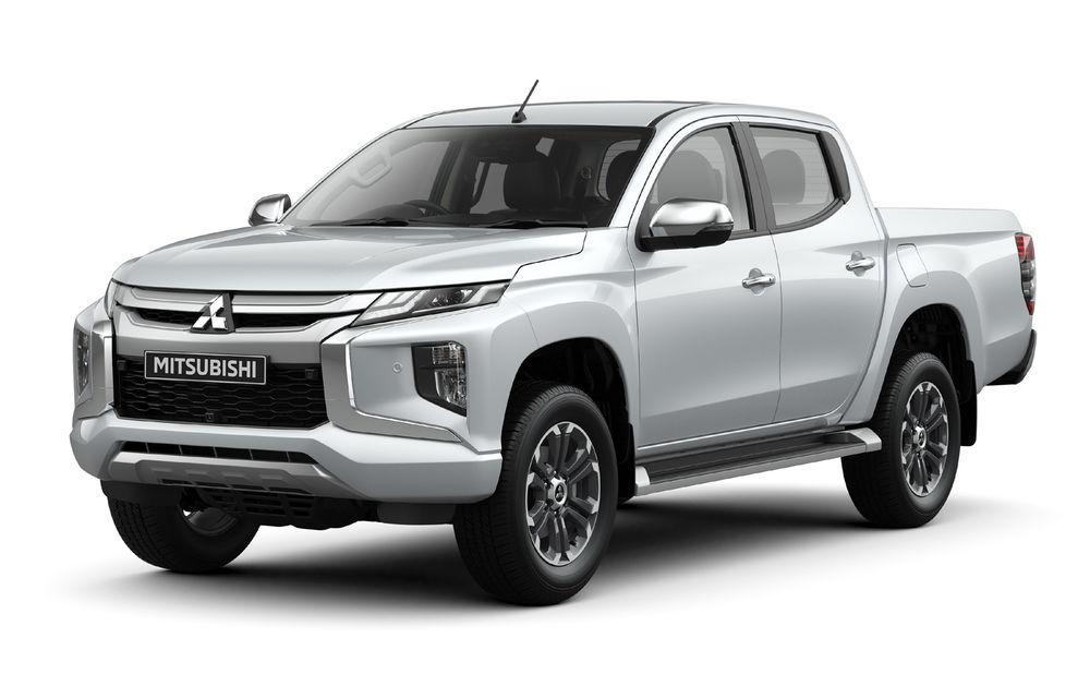 Mitsubishi L200 facelift: pick-up-ul primește noutăți de design, îmbunătățiri la tracțiunea integrală și noi sisteme de siguranță - Poza 3