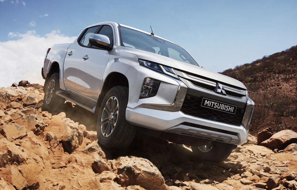 Mitsubishi L200 facelift: pick-up-ul primește noutăți de design, îmbunătățiri la tracțiunea integrală și noi sisteme de siguranță - Poza 1
