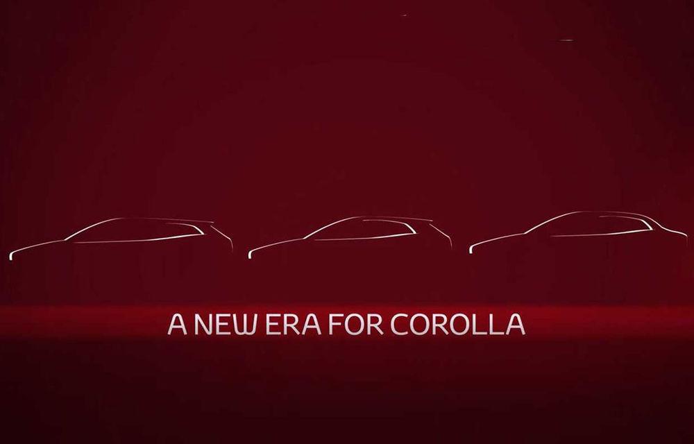 Primul teaser cu noul sedan Toyota Corolla: modelul producătorului nipon debutează în 16 noiembrie - Poza 1