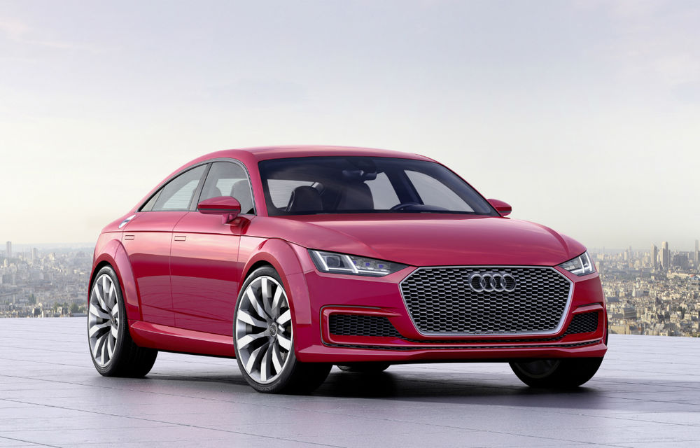Noua generație Audi TT ar putea avea patru uși: germanii vor să revitalizeze vânzările modelului sportiv - Poza 1