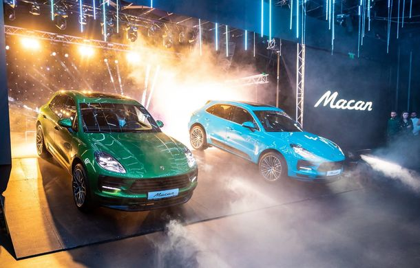 Porsche Macan facelift, avanpremieră în România: start de la 61.700 de euro - Poza 1