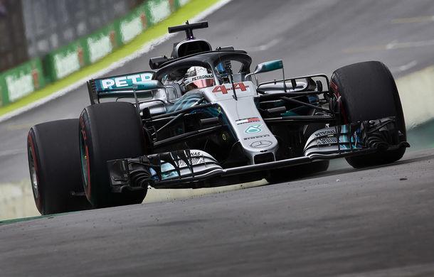 Hamilton, pole position în Brazilia în fața lui Vettel! Bottas și Raikkonen ocupă a doua linie a grilei - Poza 1