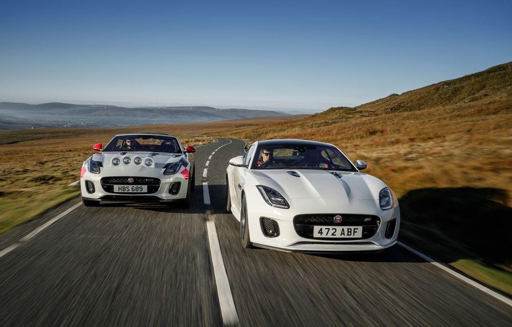 Aniversare în stil britanic: Jaguar a transformat două exemplare F-Type Cabrio în mașini destinate raliurilor pentru a sărbători 70 de ani de la debutul lui XK 120 - Poza 13