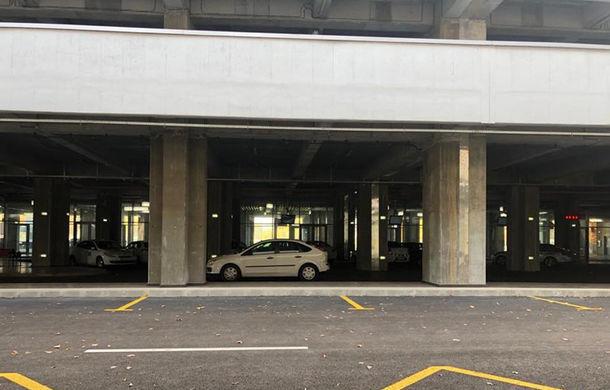Parcarea de tip park&ride din București a fost deschisă luni: tarif de un leu pe oră și capacitate de 660 de mașini - Poza 1