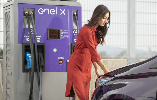 Enel va dezvolta în România o rețea de 2.500 de puncte de încărcare pentru mașini electrice: stațiile vor avea puteri de până la 150 kW - Poza 1