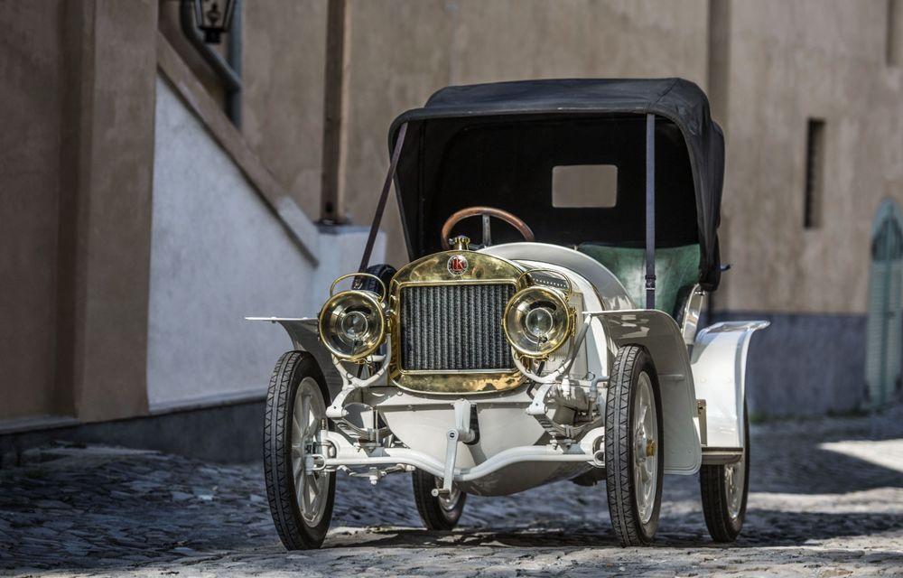 Sportivul Laurin & Klement BSC împlinește 110 de ani: singurul exemplar existent a devenit exponat al muzeului Skoda - Poza 12