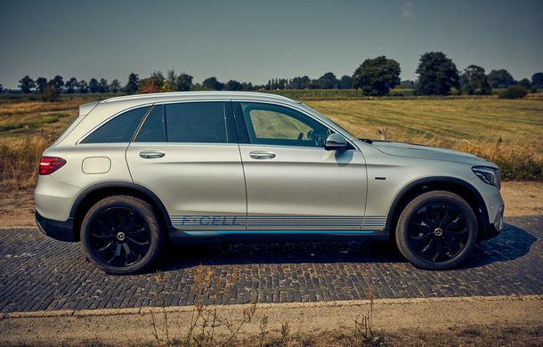 Mercedes începe livrările lui GLC F-Cell: primul hibrid alimentat cu hidrogen care are și baterie cu încărcare la priză sosește în Germania - Poza 2
