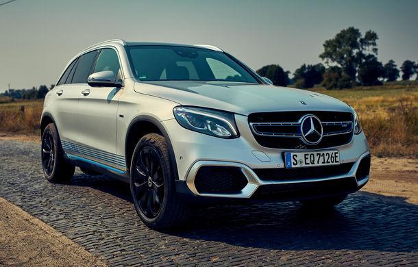 Mercedes începe livrările lui GLC F-Cell: primul hibrid alimentat cu hidrogen care are și baterie cu încărcare la priză sosește în Germania - Poza 1