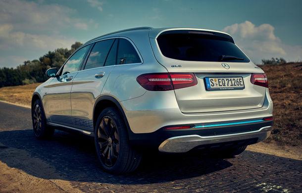 Mercedes începe livrările lui GLC F-Cell: primul hibrid alimentat cu hidrogen care are și baterie cu încărcare la priză sosește în Germania - Poza 3