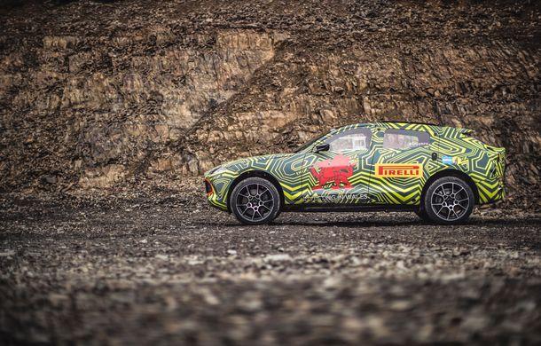 Aston Martin a început testele cu primul său SUV: numele DBX a fost confirmat oficial - Poza 3