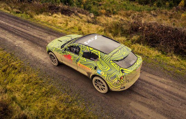 Aston Martin a început testele cu primul său SUV: numele DBX a fost confirmat oficial - Poza 9