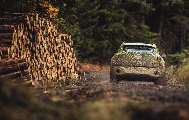 Aston Martin a început testele cu primul său SUV: numele DBX a fost confirmat oficial - Poza 13