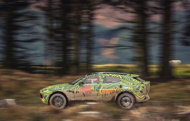 Aston Martin a început testele cu primul său SUV: numele DBX a fost confirmat oficial - Poza 8