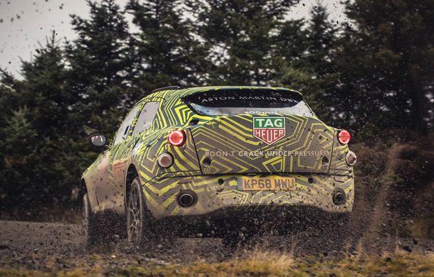 Aston Martin a început testele cu primul său SUV: numele DBX a fost confirmat oficial - Poza 6