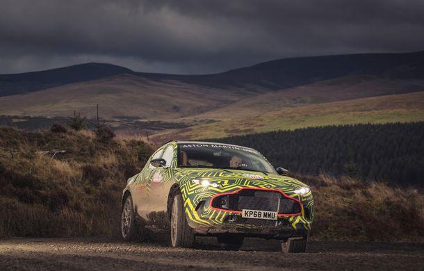 Aston Martin a început testele cu primul său SUV: numele DBX a fost confirmat oficial - Poza 7