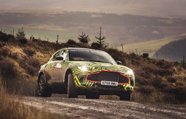 Aston Martin a început testele cu primul său SUV: numele DBX a fost confirmat oficial - Poza 5