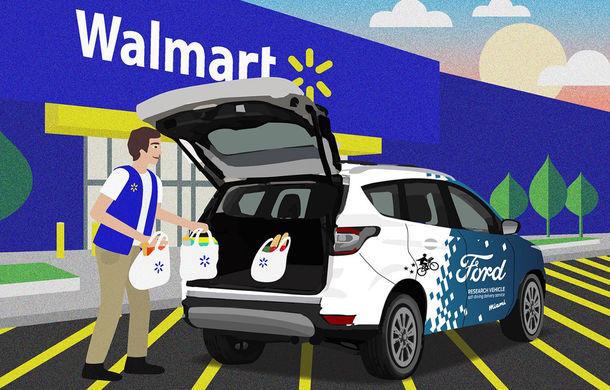 Ford va livra alimente cu mașini autonome: proiectul pilot începe în Statele Unite - Poza 2