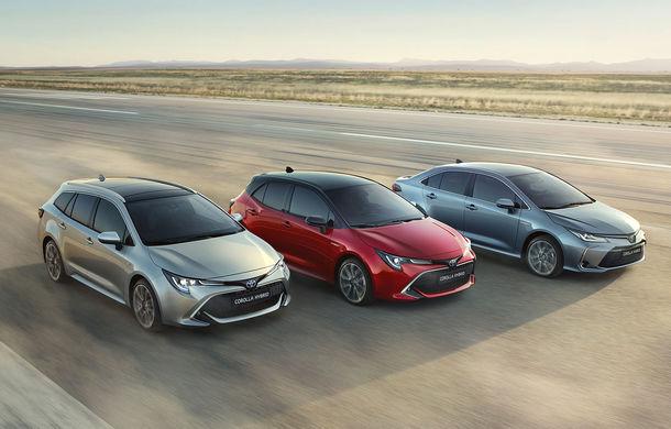 Toyota a prezentat noua generație a sedanului Corolla: platformă nouă și un singur sistem hibrid de propulsie cu 122 CP - Poza 4