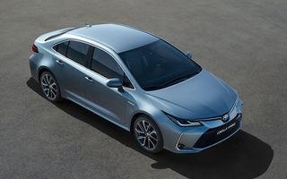 Toyota a prezentat noua generație a sedanului Corolla: platformă nouă și un singur sistem hibrid de propulsie cu 122 CP