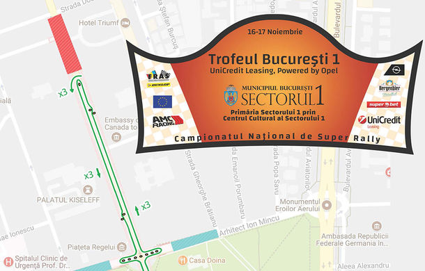 Ultima etapă a Campionatului Național de Super Rally se desfășoară sâmbăta aceasta în Capitală: 53 de piloți se întrec în Trofeul București - Poza 2