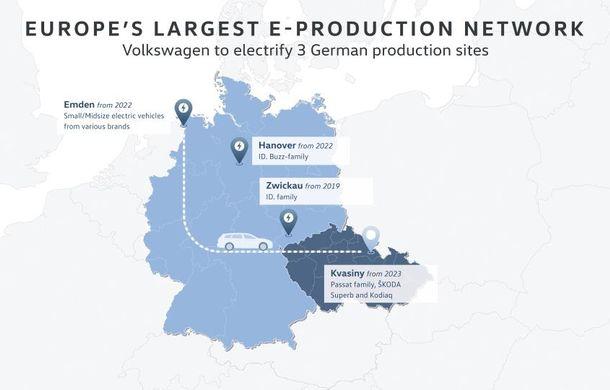 VW mărește bugetul de investiții pentru următorii 5 ani: 44 de miliarde de euro pentru dezvoltarea mașinilor electrice - Poza 1
