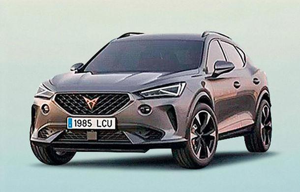 """Cupra Terramar: prima imagine cu viitorul SUV coupe de performanță, """"scăpată"""" pe internet - Poza 1"""