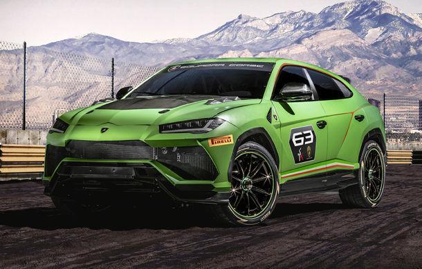 Lamborghini Urus ST-X: conceptul anticipează lansarea unui Urus de curse pentru o competiție monomarcă în 2020 - Poza 1