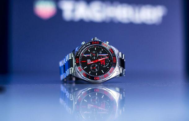 TAG Heuer a lansat un ceas nou, dedicat pilotului de Formula 1 Max Verstappen: ediție limitată la 1.300 de exemplare - Poza 1