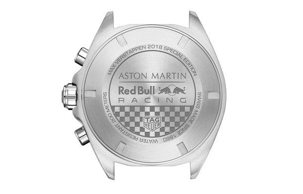 TAG Heuer a lansat un ceas nou, dedicat pilotului de Formula 1 Max Verstappen: ediție limitată la 1.300 de exemplare - Poza 2