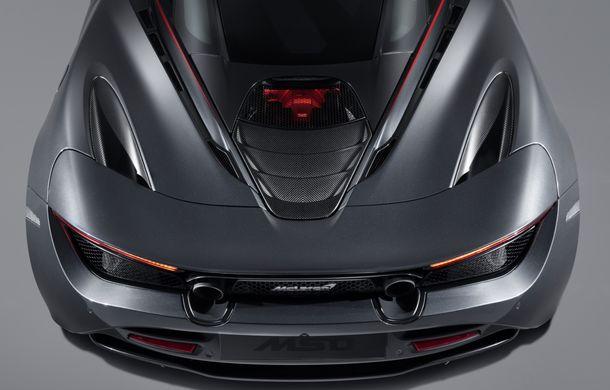 McLaren 720S Stealth va fi produs într-un singur exemplar: ediția specială a fost inspirată de culorile lui McLaren F1 GTR - Poza 5