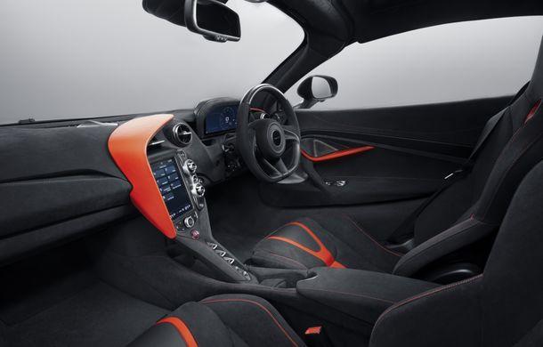 McLaren 720S Stealth va fi produs într-un singur exemplar: ediția specială a fost inspirată de culorile lui McLaren F1 GTR - Poza 7