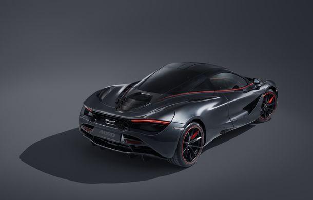 McLaren 720S Stealth va fi produs într-un singur exemplar: ediția specială a fost inspirată de culorile lui McLaren F1 GTR - Poza 2