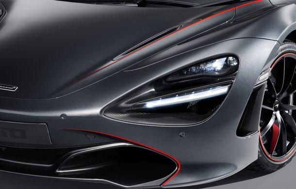 McLaren 720S Stealth va fi produs într-un singur exemplar: ediția specială a fost inspirată de culorile lui McLaren F1 GTR - Poza 3