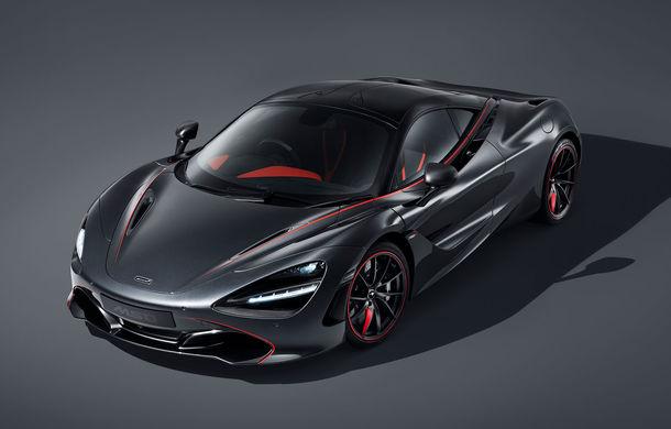 McLaren 720S Stealth va fi produs într-un singur exemplar: ediția specială a fost inspirată de culorile lui McLaren F1 GTR - Poza 1