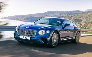 """Bentley, puternic afectat de noul standard de emisii: """"Impactul WLTP a fost aproape catastrofal"""""""