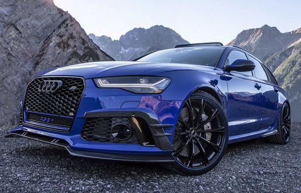 Cântecul de lebădă: ABT a prezentat noul Audi RS6+ Avant Performance Nogaro Edition cu 735 CP - Poza 2