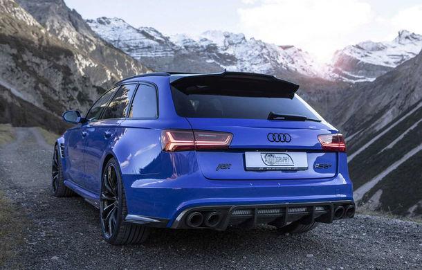 Cântecul de lebădă: ABT a prezentat noul Audi RS6+ Avant Performance Nogaro Edition cu 735 CP - Poza 3