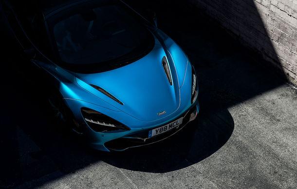 Primul teaser cu viitorul McLaren 720S Spider: supercar-ul cu plafon retractabil debutează în 8 decembrie - Poza 1