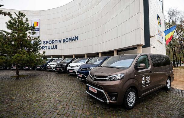 Toyota și COSR se pregătesc de Tokyo 2020: cele mai importante 10 federații sportive olimpice au primit câte un Toyota Proace Verso - Poza 1