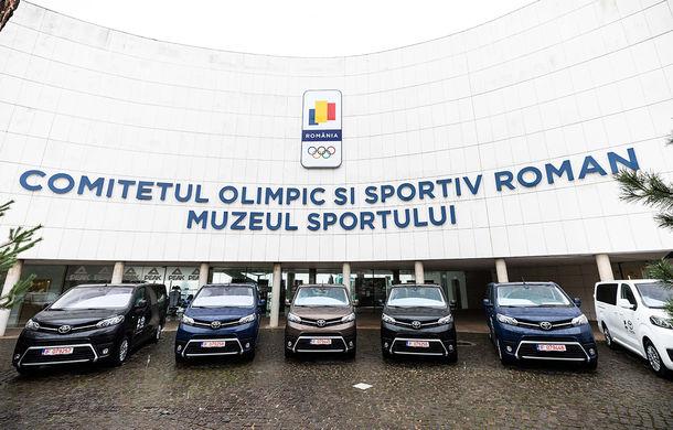 Toyota și COSR se pregătesc de Tokyo 2020: cele mai importante 10 federații sportive olimpice au primit câte un Toyota Proace Verso - Poza 2