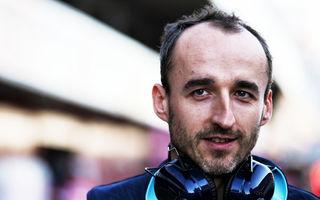 """Williams confirmă revenirea lui Kubica în Formula 1 în 2019: """"Este una dintre cele mai mari realizări ale vieții mele"""""""