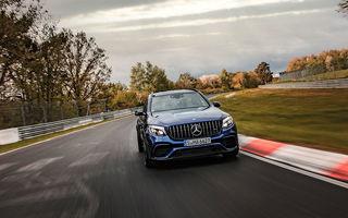 Mercedes-AMG GLC 63 S a devenit cel mai rapid SUV în producție de serie: 7 minute și 49 de secunde pe circuitul de la Nurburgring