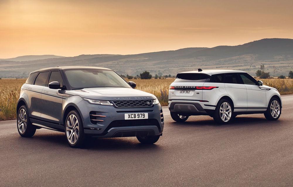 Noul Range Rover Evoque, poze și informații oficiale: design ușor modificat, interior îmbunătățit și sisteme de propulsie mild-hybrid - Poza 1