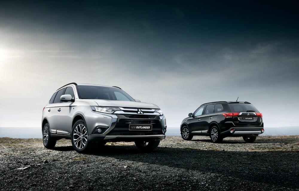 Mitsubishi recheamă în service în România toate SUV-urile echipate cu sistem de asistență la frânarea de urgență - Poza 1