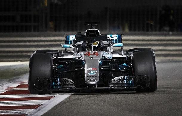 Hamilton, pole position în Abu Dhabi! Bottas pe locul doi, Ferrari pe a doua linie a grilei - Poza 1
