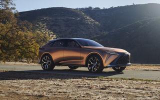 Rival pentru Lamborghini Urus: Lexus pregătește un SUV de 670 CP bazat pe conceptul LF-1 Limitless