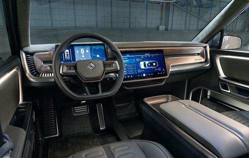 Rivian, un start-up din SUA, lansează un pick-up electric: din 2021, modelul cu autonomie de peste 640 de kilometri va fi disponibil și în Europa - Poza 10